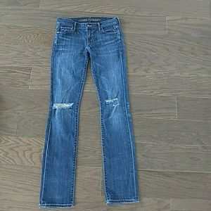 COH Citizens of Humanity distressed 'Ava' size 27